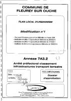 7A 3.2 Arrêté Préfectoral classement sonore 25-09-2012